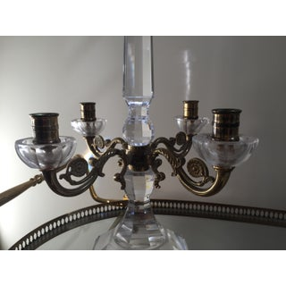 19th Century Antique Baccarat Crystal and Gilt Bronze Candelabras - a Pair Preview