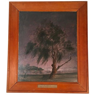 Hayward Veal Melbourne Australia Nocturne Painting For Sale