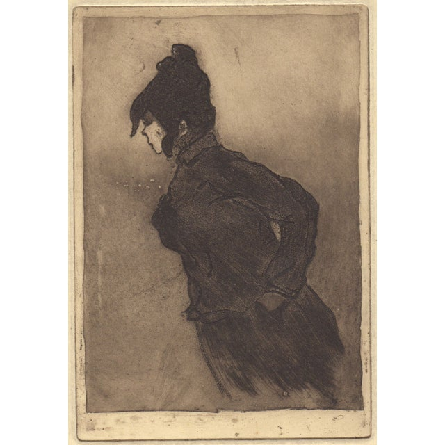 Henri Boutet (French 1851-1919) Etching For Sale