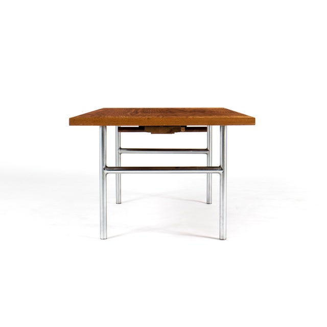 Mid-Century Modern Rare George Nelson Drop-Leaf Cocktail Table For Sale - Image 3 of 8