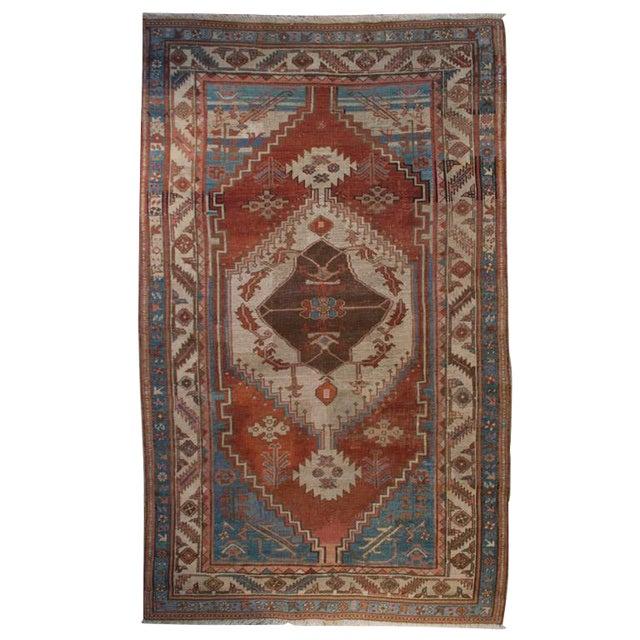 "19th Century Bakhshayesh Carpet - 4'4"" x 6'10"" For Sale"