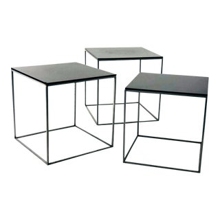 Poul Kjærholm Fritz Hansen Pk71 Coffee Tables - Set of 3 For Sale