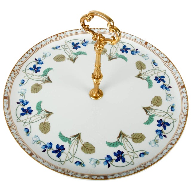 Limoges Tier Cake Platter For Sale