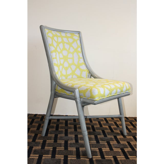 McGuire McGuire Laura Kirar Passage Dining Side Chair For Sale - Image 4 of 7