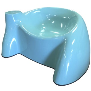 Wendell Castle Blue Fiberglass Chair For Sale