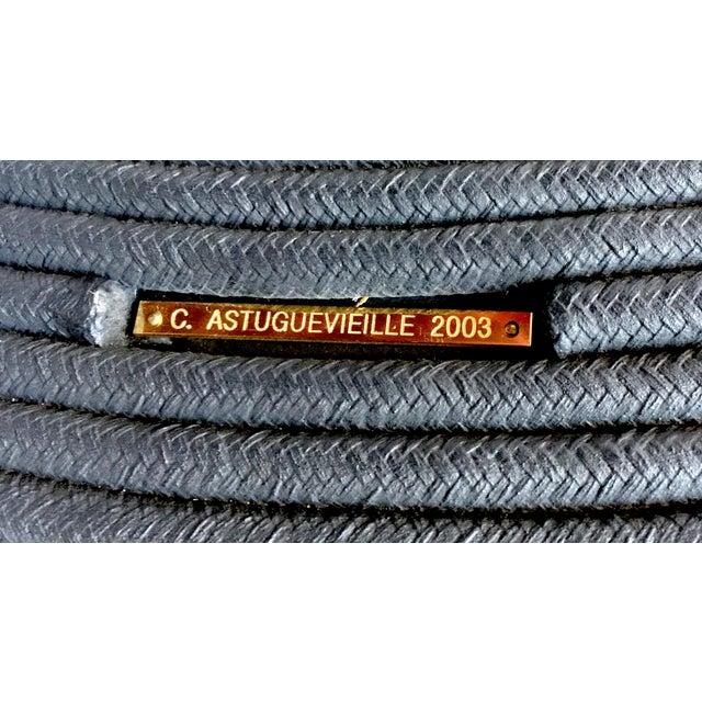 Afritamu Christian Astuguevielle Black Rope Coffee Table - Image 5 of 5