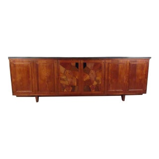 Slate Top Credenza After Phillip Lloyd Powell For Sale