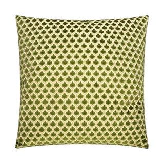 Olive Spade Like Velvet Pillow