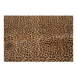 Genuine Brazilian Cowhide, Leopard