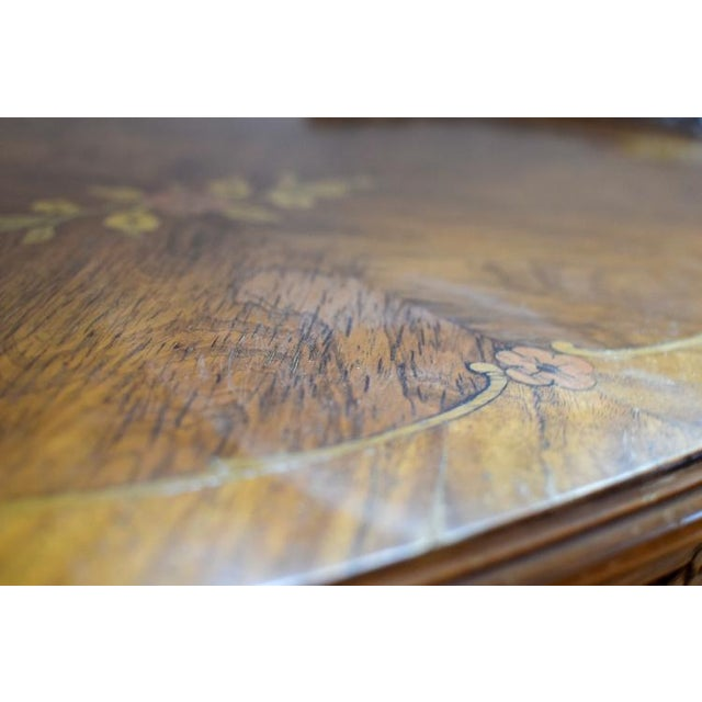 Belle Epoque Early 20th Century Antique Tonk French Court Galleries Coffee Table For Sale - Image 3 of 13
