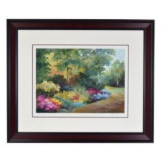 """1990s Alix Rowena Stefan """"Wonder"""" Landscape Painting For Sale"""