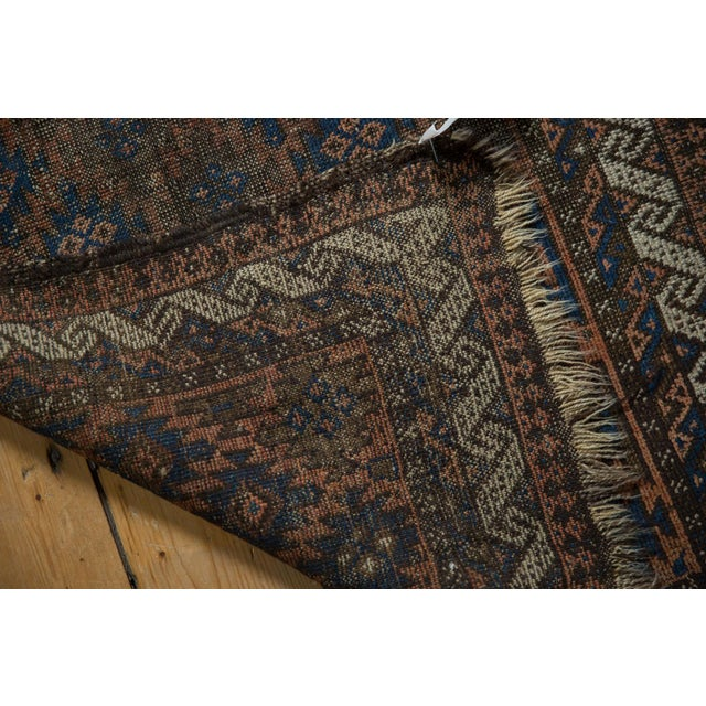 "Islamic Antique Belouch Rug - 2'7"" X 4'6"" For Sale - Image 3 of 9"