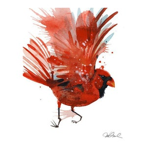 Red Cardinal Giclee Print For Sale