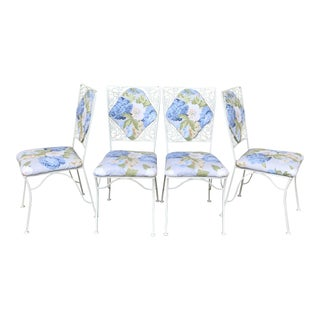 """Iron """"Garden Party"""" Chairs - Set of 4"""