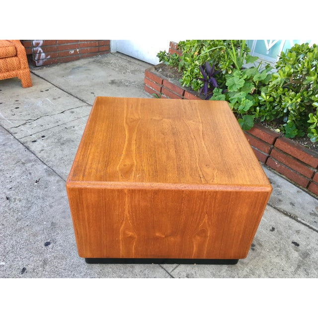 Vintage Square Coffee Table - Image 5 of 5