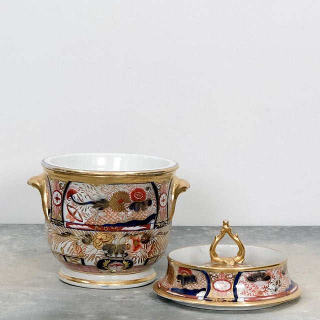 Early 19th Century Coalport Admiral Nelson Pattern Fruit Cooler, England Circa 1810 For Sale - Image 5 of 8