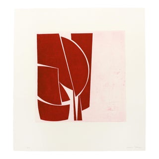 "Joanne Freeman ""Covers 1 Red"" Print For Sale"