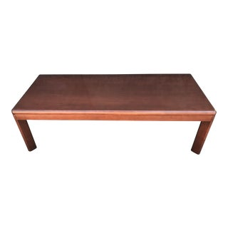 Steelcase Solid Wood Bench