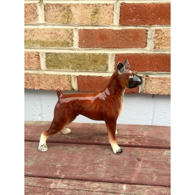1950s Vintage Boxer Dog Figurine - Image 2 of 5