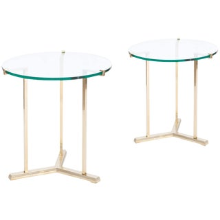 Pair of Side Tables by Peter Ghyczy