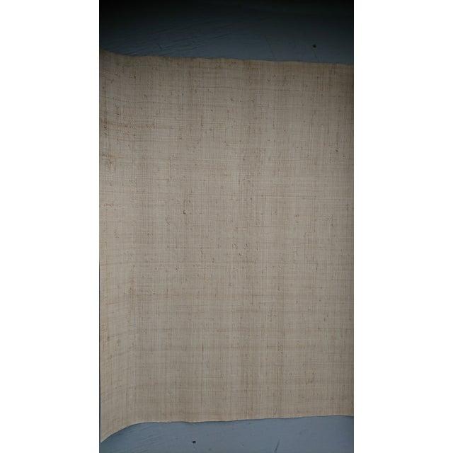 Traditional Kneedler Fauchere Handmade Woven Raffia Wallpaper - Set of 6 Rolls For Sale - Image 3 of 5