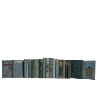 Antique Turquoise Classics Book Set For Sale