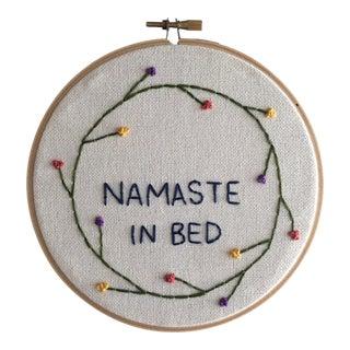 """""""Namaste"""" Embroidery"""