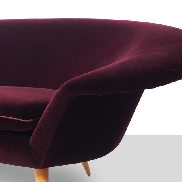 1950s Swedish Three-Seat Sofa Attributed to Kerstin Horlin Holmquist For Sale - Image 5 of 7