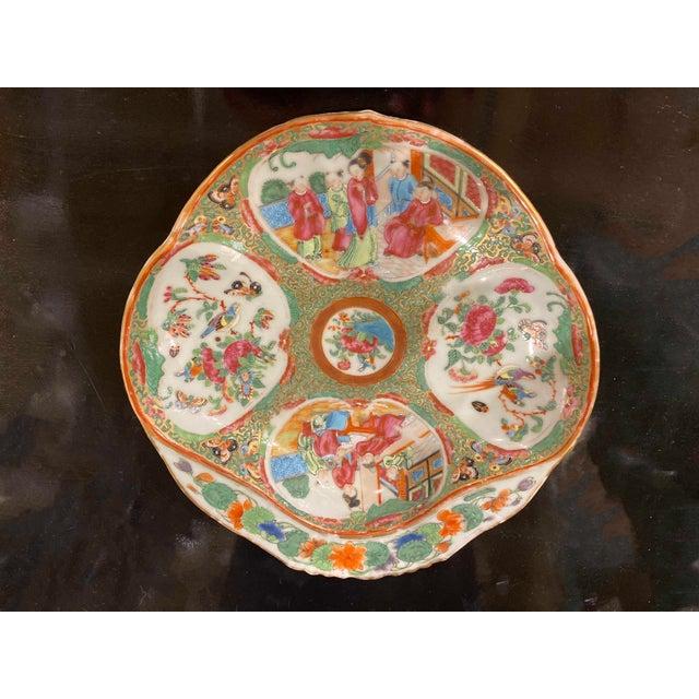 Famille Rose Shrimp Dish For Sale - Image 9 of 10