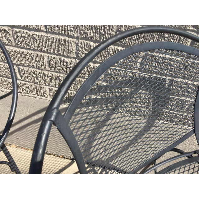 Salterini Outdoor Patio Dining Table & Chairs- Set of 5 - Image 5 of 6