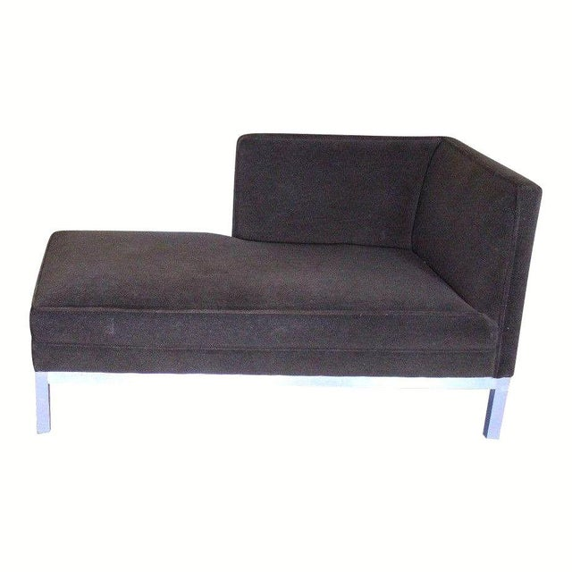 Brown Jordan Jordan Modern Brown Chaise Lounge Daybed For Sale - Image 4 of 10