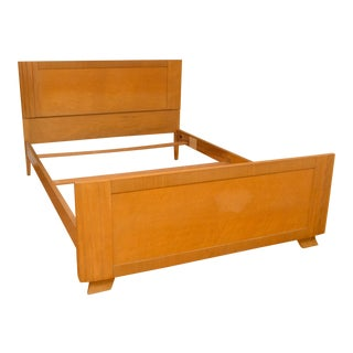 RWay 1940's Maple & Birdseye Maple Double Bed Frame For Sale