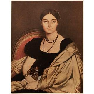 """1951 Ingres """"Madame Devauçey"""", First Edition Parisian Photogravure For Sale"""