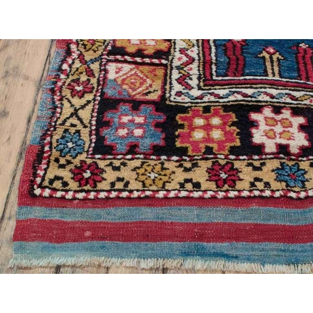 A great example of Anatolian village weaving traditions featuring a design attributed to the Afyon-Dazkiri region. A very...