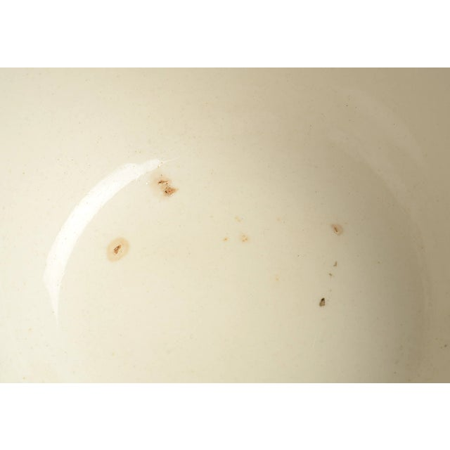 English Early 20th Century Wood & Sons Castles Purple Cranberry Bowl For Sale - Image 3 of 8