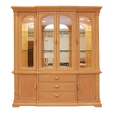 """Image of Late 20th Century Bernhardt """"Palm Court"""" China Cabinet For Sale"""