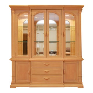 """Late 20th Century Bernhardt """"Palm Court"""" China Cabinet For Sale"""