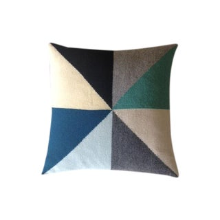 Flora & HenrI Geometric Pillow Cover For Sale