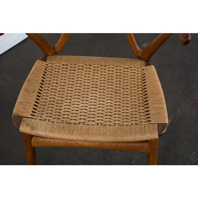 Henning Kjærnulf for Bruno Hansen Model 255 Teak Chairs - A Pair For Sale - Image 10 of 13
