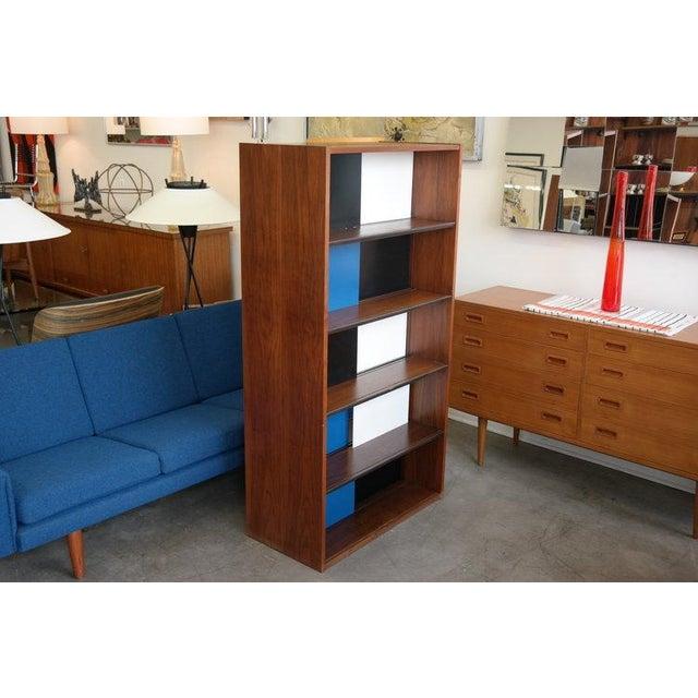 Glenn of California Evans Clark Color Block Bookcase For Sale - Image 4 of 7
