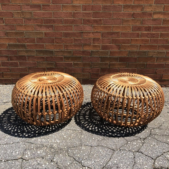 Franco Albini Ottomans, a Pair For Sale - Image 12 of 12