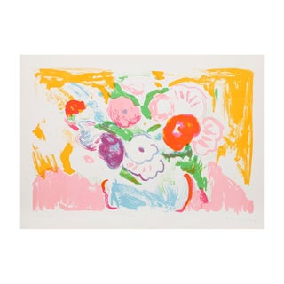"Bob Kane ""Fleurs Nicoises"" Lithograph For Sale"