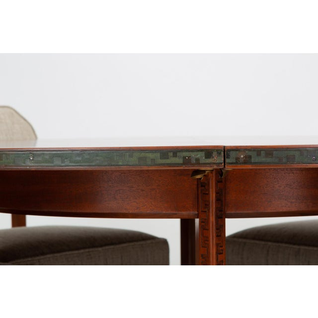 """Frank Lloyd Wright """"Taliesin"""" Game Table With Four Chairs For Sale - Image 11 of 13"""