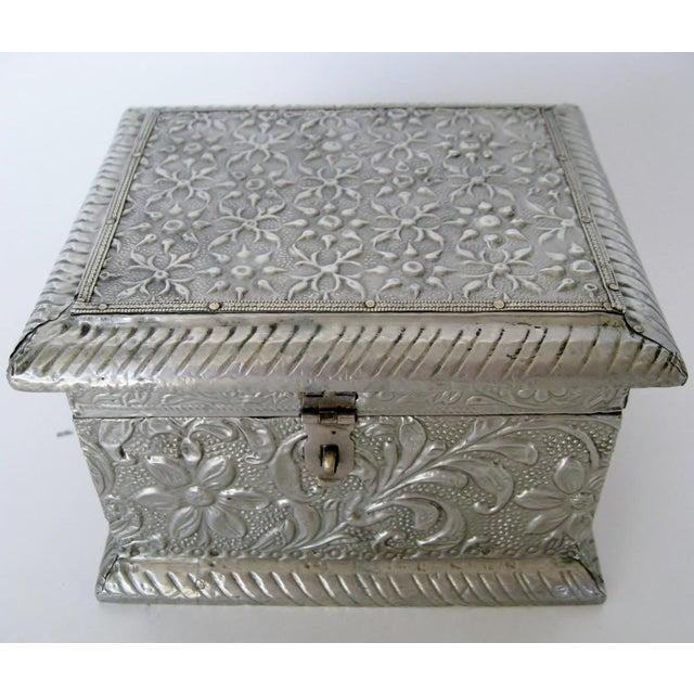 Vintage Embossed Keepsake Box - Image 3 of 8
