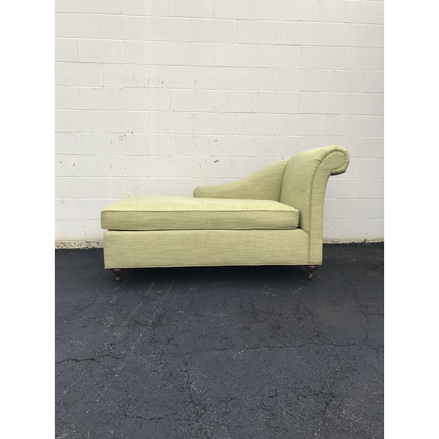Mid Century Modern Bright Green Canvas Fainting Chairs - a Pair For Sale - Image 4 of 9