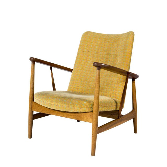 Pair of Finn Juhl Model SW-86 Lounge Chairs Designed In 1953 And Produced By Soren Willadsens Mobelfabrik. Store formerly...