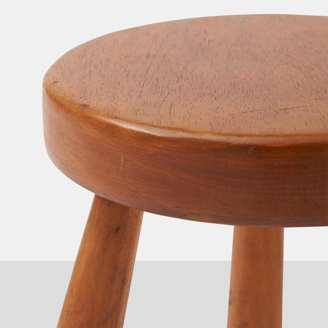 Charlotte Perriand Charlotte Perriand Stools for Les Arcs For Sale - Image 4 of 6