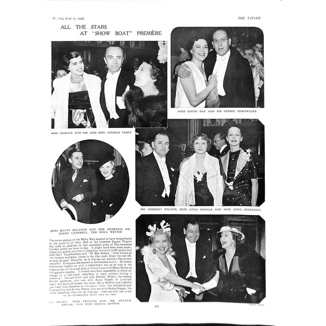 The Tatler: June 17, 1936 For Sale - Image 9 of 11