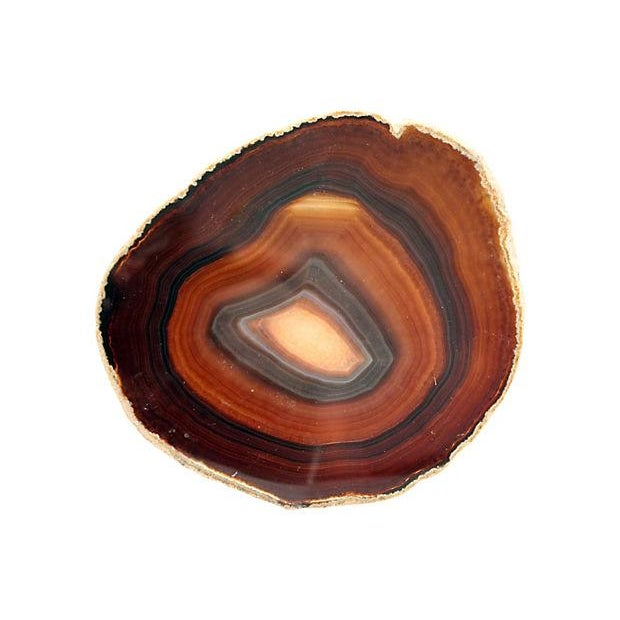 Natural Agate Stone Slice - Image 2 of 3