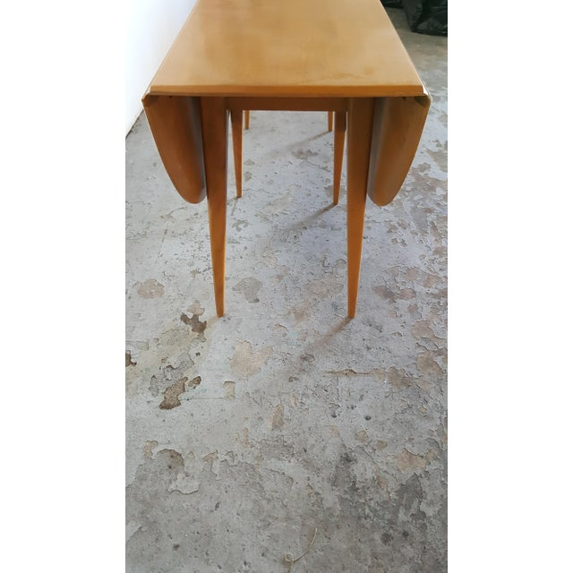 Mid-Century Heywood Wakefield Dining Table - Image 9 of 11